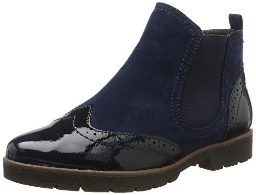 Softline Damen 25466 Chelsea Boots Blau (Navy)