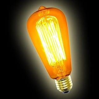 Edison rustika Schmucklampe Glühbirne 40W / E27 / klar /antik