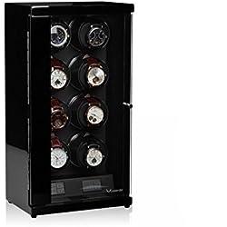 Luxwinder Flint LV2 Uhrenbewger für 8 Automatikuhren powered by Modalo schwarz 6208112