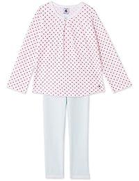 Petit Bateau Mädchen Zweiteiliger Schlafanzug Pyjama_22563
