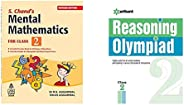 S. Chand's Mental Mathematics for Class 2&Reasoning Olympiad Class 2nd(Set of