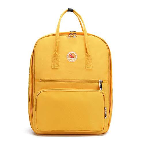LFGCL Taschen womenMummy Tasche große Kapazität wasserdichte Mutter Tasche Mode Print Mutter und Kind Paket Schwangere Frauen aus Tasche, gelb
