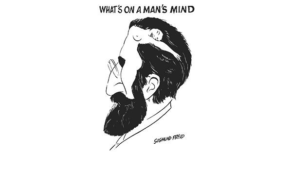 What's on a man's mind sigmund freud - 61 x 92 cm : Amazon.fr: Cuisine et Maison