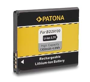 PATONA Batterie BA-S460 BD29100 BA-S540 pour HTC A310e A320e A510e A510c Explorer Grove HD3 HD7 Pico Schubert T9292 Wildfire S T9292 T9295