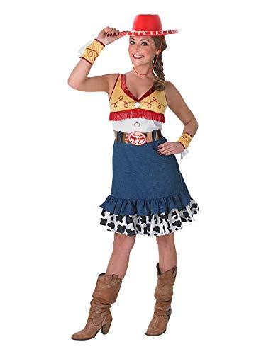 Rubie 's Offizielles Damen Jessie Kostüm Toy Story, Erwachsenen-Kostüm-Medium (Für Toy Story Erwachsene Halloween-kostüme)