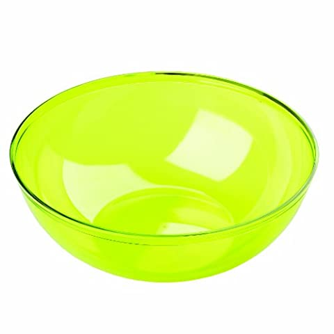 MOZAIK Green Anis Round Plastic Salad Serving Bowl 27cm (3.5