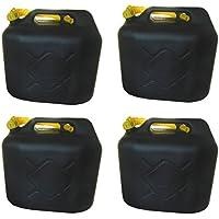 4x20L Kraftstoffkanister Benzinkanister Kraftstoff Reserve Kanister UN-Zulassung