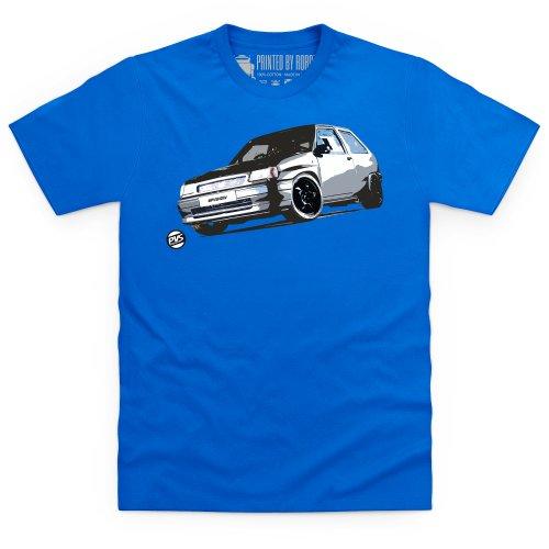 Old Skool Vauxhall Nova T-Shirt, Herren Royalblau