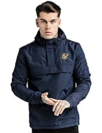 Sik Silk Energy Windbreaker Navy