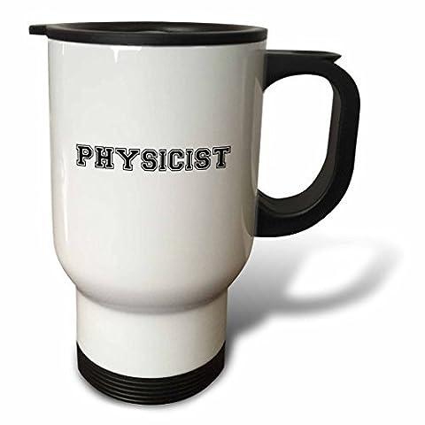 statuear physicien et Fiers 14-Ounce Tasse de voyage en acier inoxydable