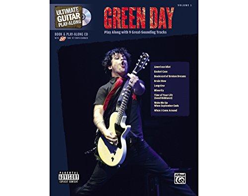 HAL LEONARD Green Day Ultimate Along–Guitar TAB Songbook mit CD (Day Guitar Green Tab)