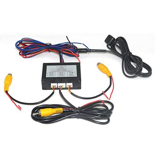 Auto Wayfeng WF de Voiture 2caméras commutateur Boîte de contrôle 2Voies Canal pour Avant/arrière/Gauche/Droite Vue Caméra de recul Système Vidéo Control pour LCD/DVD/Magnétoscope numérique.