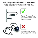 Mission USB Power Cable for Amazon Fire TV 4K (Eliminates the Need for AC Adapter)