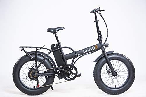 SHADE Trail Vélo électrique Pliant 20'  Mixte Adulte, Noir