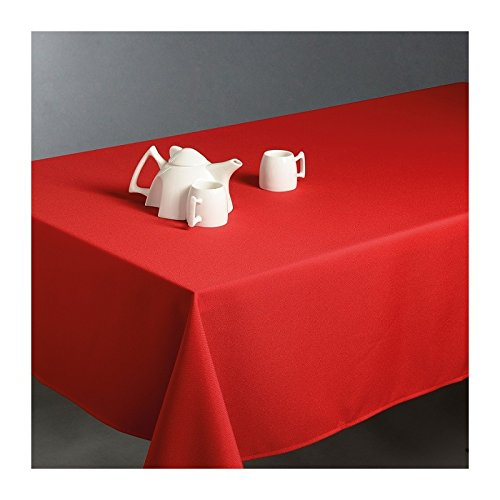 Nappe anti-tache rectangulaire rouge 150x300 cm