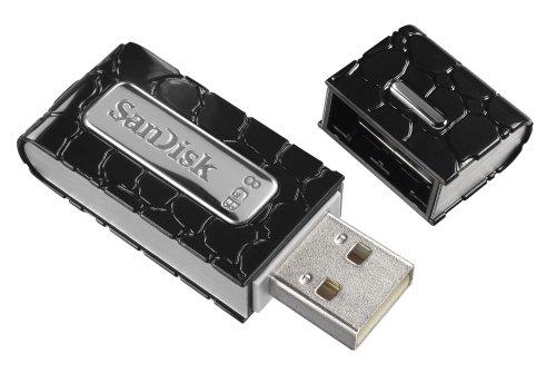 SanDisk Cruzer Gator USB 2.0 8GB Pen Drive (Black)