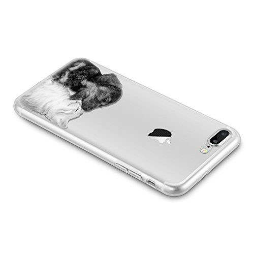 custodia iphone 8 plus gatto