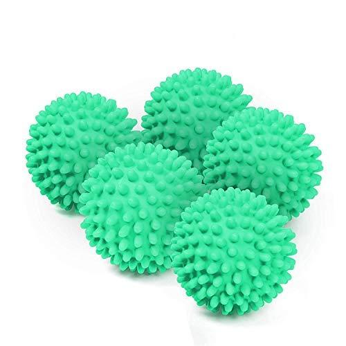 BRAMBLE! Paquete de 5 Bolas de Secadora de Lavadora Reutilizables - No Se Derrite, Ahorra Energía...