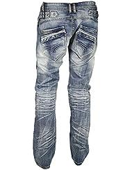 Jeans HL 9206 Foncé