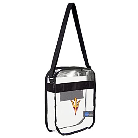 NCAA Arizona State Sun Devils Clear Carryall Crossbody Bag by Littlearth