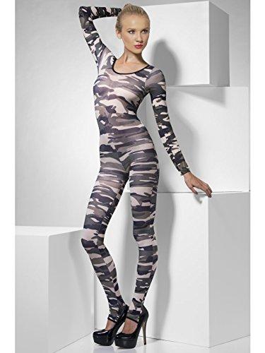 Camouflage Bodysuit, One Size, Grün, 26818 (Grünen Bodysuit)