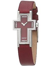 Esprit Damen-Armbanduhr Analog Quarz Leder ES4758.A97