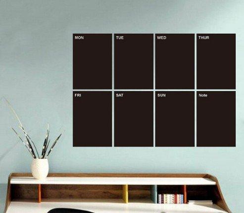 homemay-a4-sized-weekly-planner-blackboard-sticker-memo-removable-vinyl-chalkboard-wall-sticker-b490