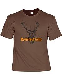 Revieraufsicht Cooles Sprüche T-Shirt mit Urkunde : )