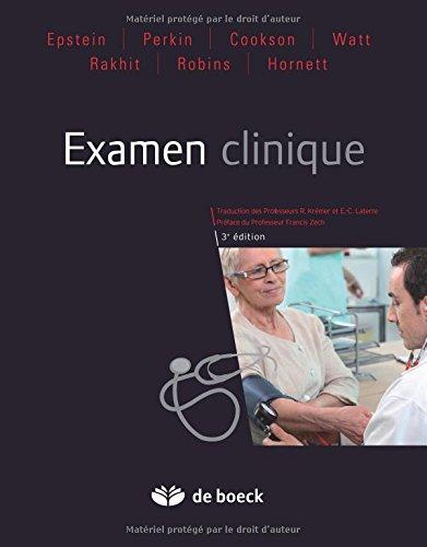 Examen clinique : Eléments de sémiologie médicale