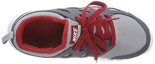 Nike Free Run 2 (Grade-School) Mädchen Sneakers Grau (Wolf grey/white-gym rd-drk gry)