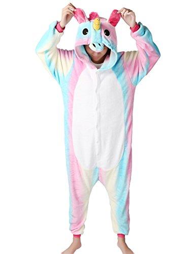 (LATH.PIN Tier Karton Kostüm Karneval Pyjama Tierkostüme Jumpsuit Erwachsene Schlafanzug Unisex Cosplay)