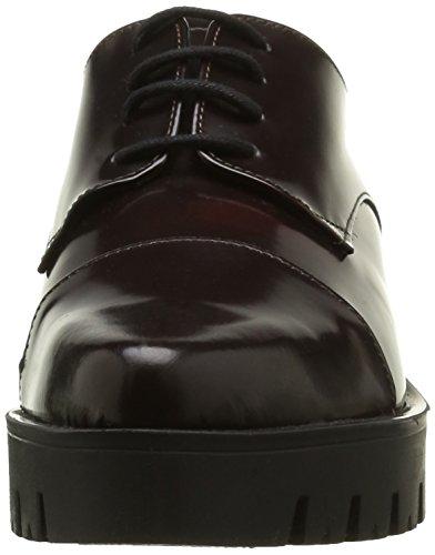 ELIZABETH STUART Millau 308, Chaussures Lacées Femme Rouge (Bordo)