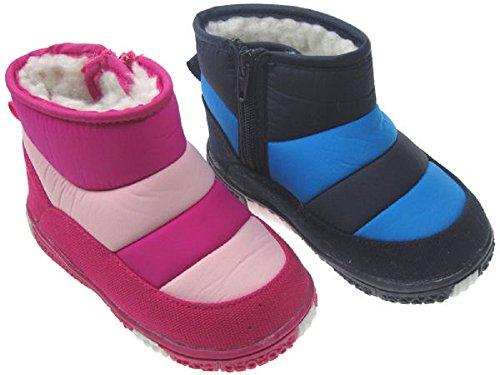 Soft Touch STB1853bambino infantili ragazzo o ragazze stivali impermeabili in tonalità di rosa o blu. Disponibile in 15-18mesi (19), 18-21mesi (20), 21-24mesi (21)