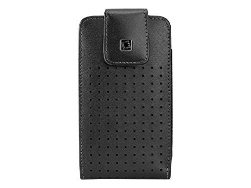 Cellet LTERP6B Teramo Ledertasche für Apple iPhone 7, 6, 6S & Samsung Galaxy S7, S6, S5, S4 (passend mit Slim Case) (S5 Otterbox Case Mit Clip)