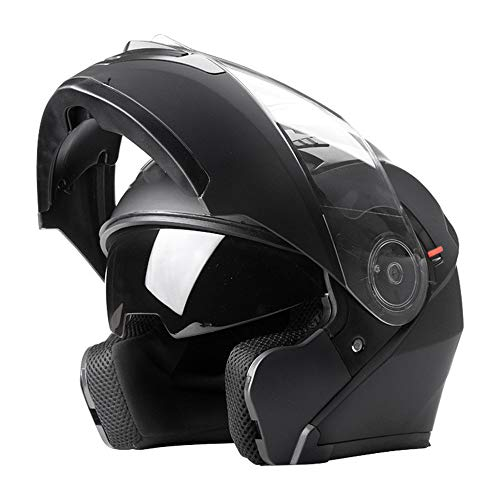 Casco Motocicletta A Batteria Elettrica Casco Uomo E Donna Quattro Stagioni Casco Integrale Mezzo Casco Moto Con Lente Anti-riflesso