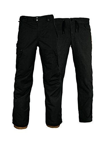 686 SMARTY 3 In 1 Cargo Snowboard Pant X Large Black - 686 Smarty Cargo Pant