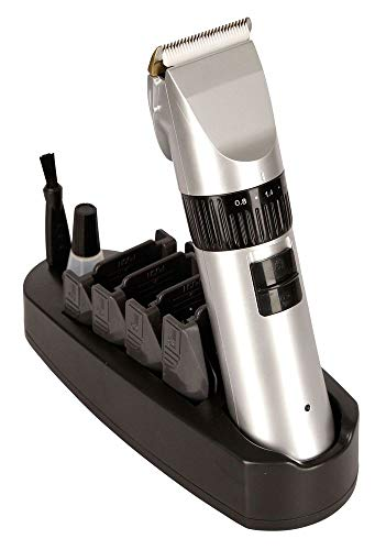 Akku-Schermaschine Onyx mit Keramik-Scherkopf 5-stufige Schnitthöheneinstellung