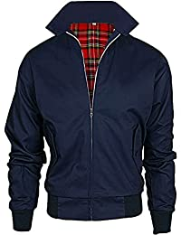 Juicy Trendz hombres Clásico Retro Vendimia HARRINGTON Chaqueta 70s Scooter Bombardeo Capa