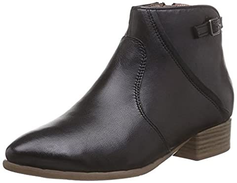 Tamaris 25312, Damen Kurzschaft Stiefel, Schwarz (BLACK 001), 40 EU