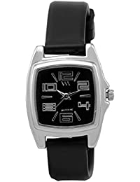 Watch Me Analogue Quartz Branded Watch for Girls and Womens WMAL-110-BKvjeasy