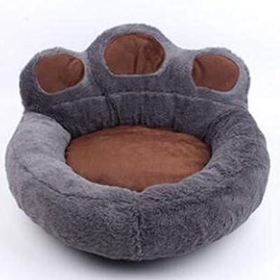 Cartoon bear paw pet nest kennel cat litter full detachable Teddy Bomei dog pad breathable warm nest from Harlls