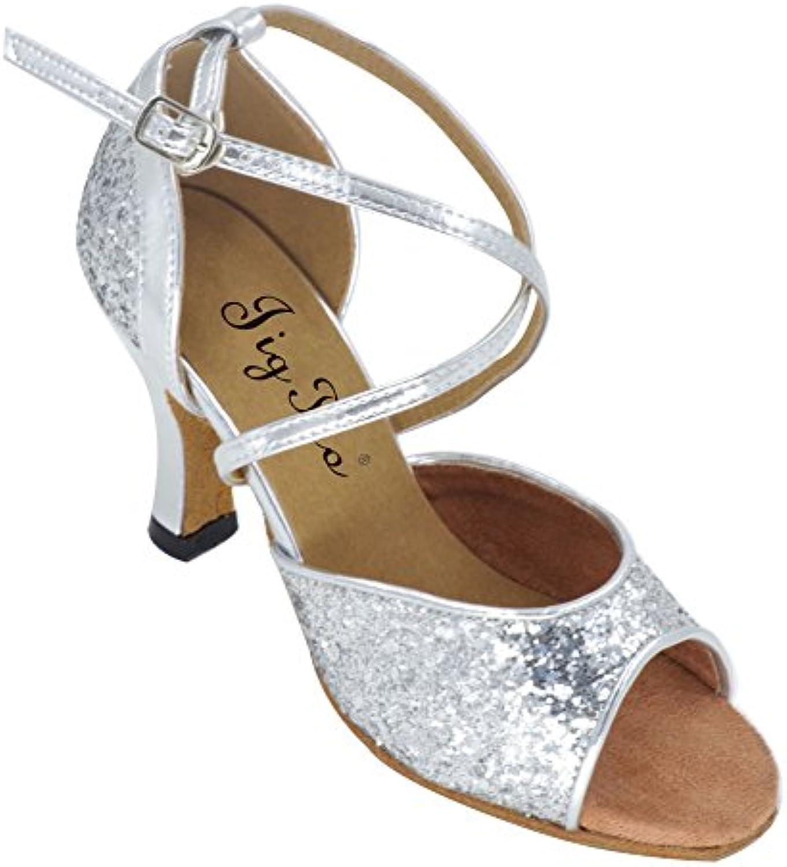Scarpe da ballo latino per gli adulti Ballare quadrato stessi errori che di scarpe delle signore Morbido antiscivolo...   Raccomandazione popolare    Sig/Sig Ra Scarpa