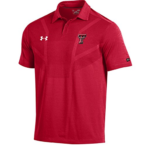 Under Armour NCAA Herren Sideline Coach's Polo, Herren, Sideline Coach's Tour Polo, rot, Small