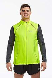 Windfeste Joggingveste für Herren Limette Grün XL