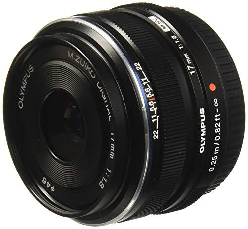 Olympus M.Zuiko Digital 17mm 1:1.8 Pancake Objektiv schwarz (Digitale Slr-kameras Von Olympus)