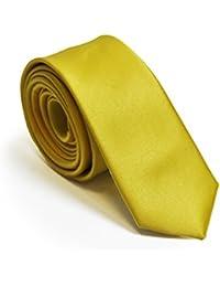 Sunbeam Yellow 5cm Skinny Wedding Tie and Accessories