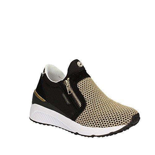 Versace Jeans Sneaker Donna DisF2 Neoprene+Mesh E0VPBSF2M27, Scarpe sportive Noir