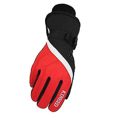 Warm Winddichte wasserdichte Ski-Handschuhe Ski-Ausrüstung Wintersport-Handschuhe für Männer, 05