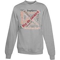 Billion Group | Capital Cities Cloud Rio De Janeiro | City Collection | Women's Unisex Sweatshirt