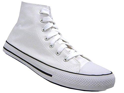 Moderner Sneaker Freizeit Herren Schuh weiß 41